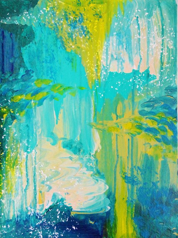 Amazing Abstract Acrylic FREE SHIPPING Seaside Dreams