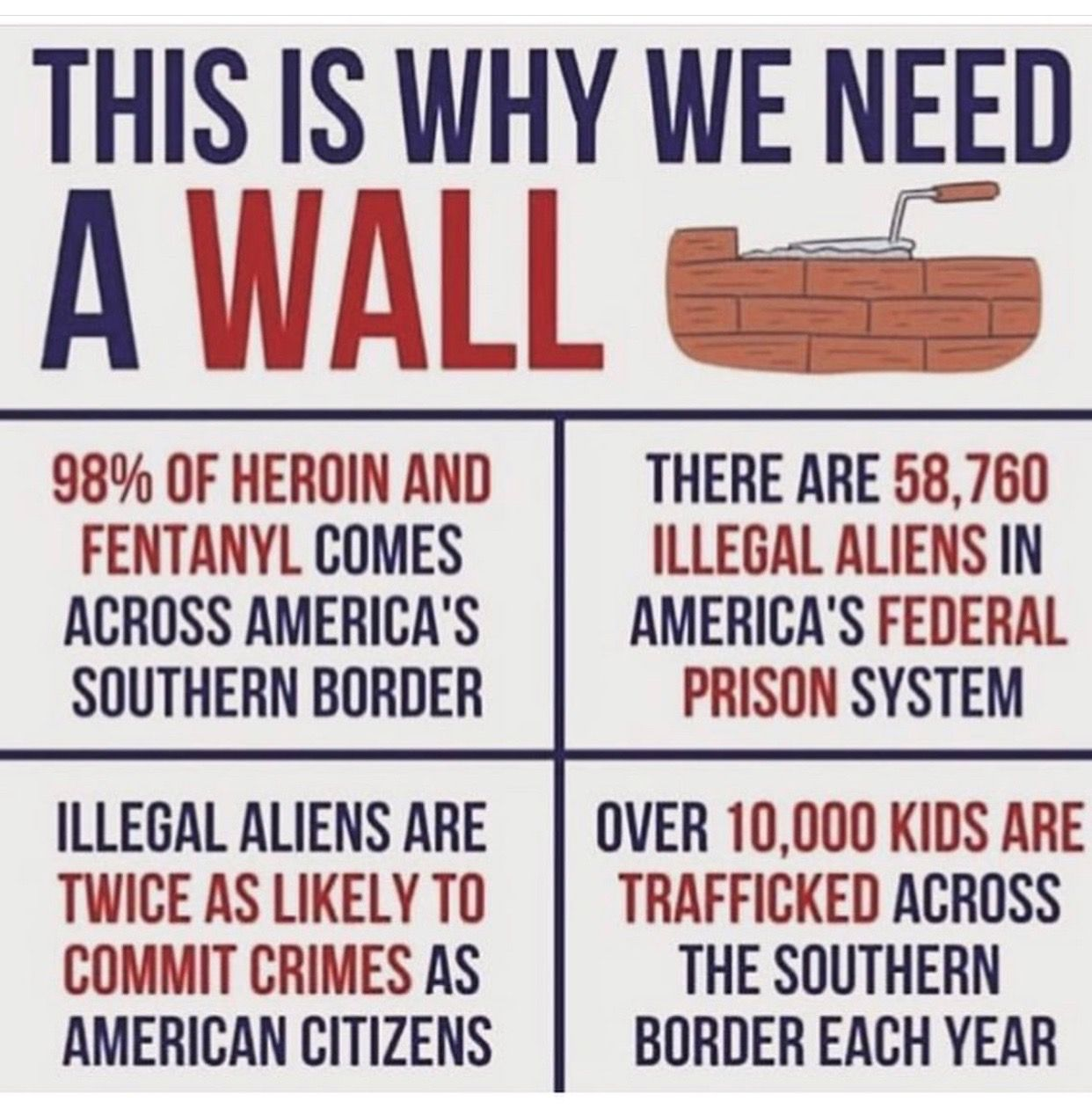 Pin on BORDER WALL NOW‼️