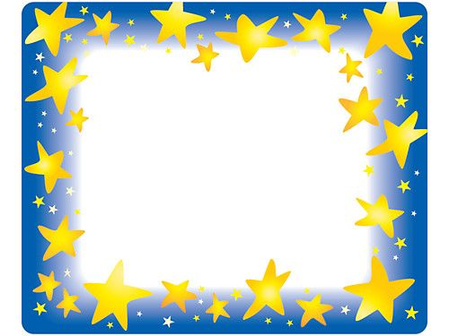 Star Brights Name Tags Back to School Essentials Borders, frames