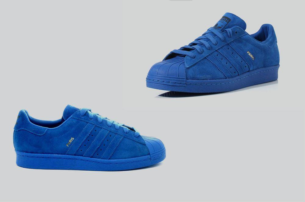 new style e9ad6 3054b Men s Adidas ORIGINALS SUPERSTAR 80s City Pack France Paris B32662  adidas   B32662