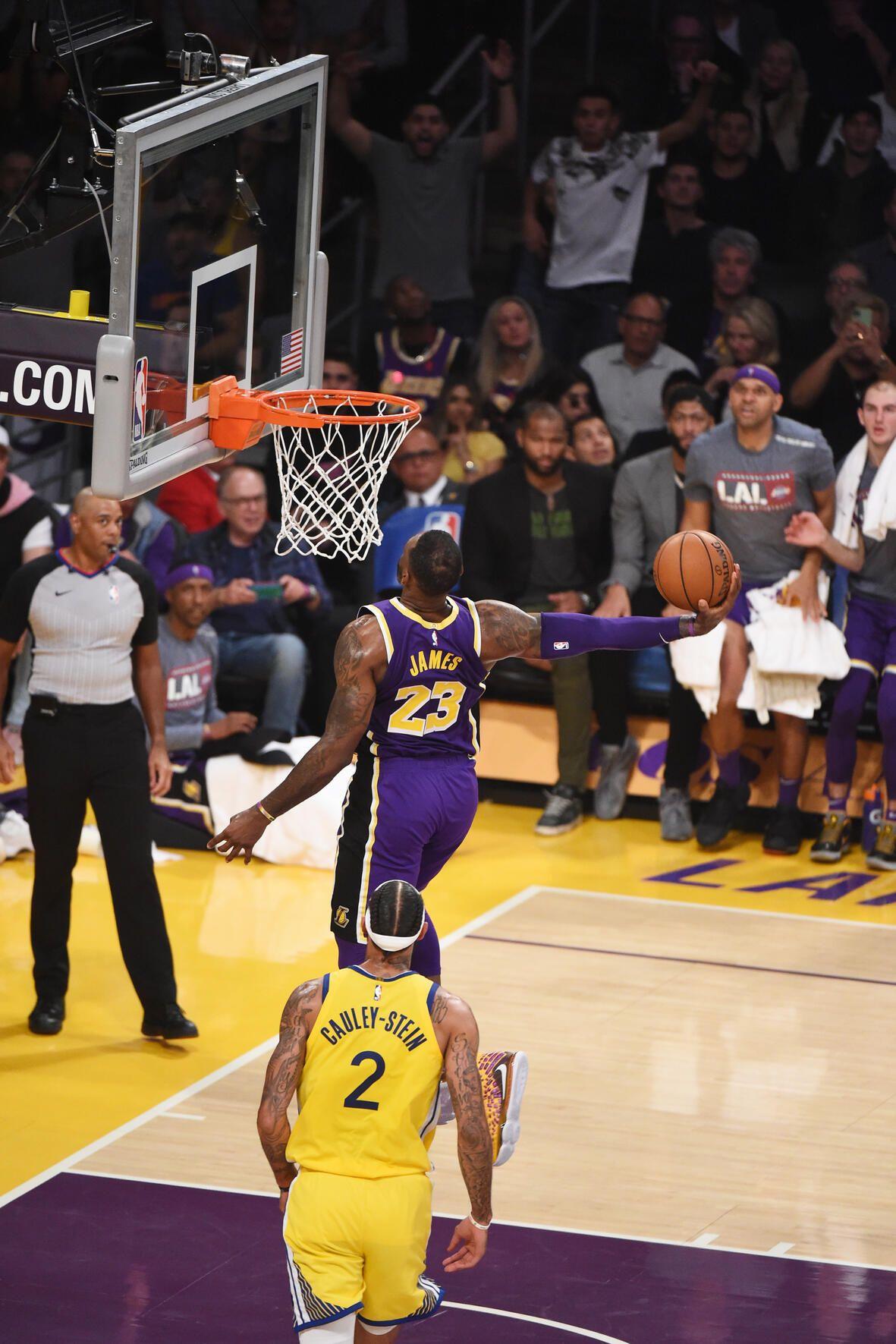 Photos Lakers vs Warriors (11/13/19) Michael jordan