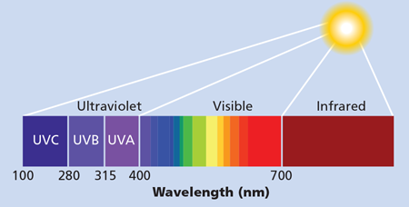 Fig 1 Uv Leds Cover A Broad Radiometric Spectral Band And Are General Broken Into Uv A Uv B And Uv C Segments Segmentation Emergency Technology