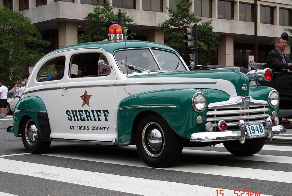 1948 Ford - Sheriff - St. Johns County | CLASSIC AND SPORTS CARS ( I ...