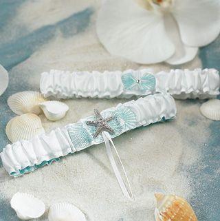 beach wedding garter  #Bridal #Wedding #Garters #Belts