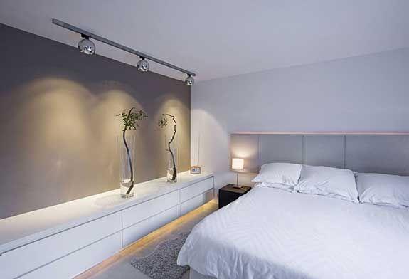 Design Slaapkamer Verlichting : Modular bolster in de slaapkamer led lighting pinterest lampen