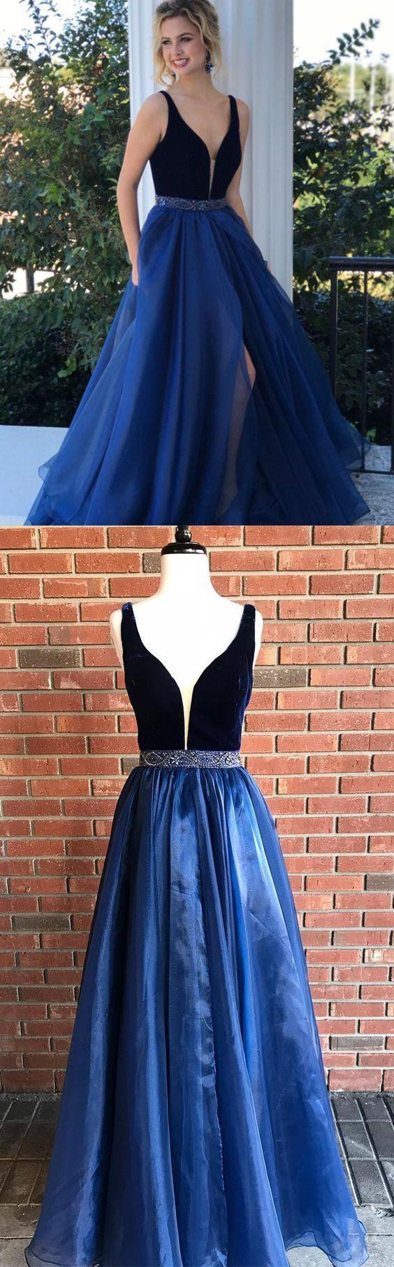 long prom dress aline simple modest beautiful cheap prom dress
