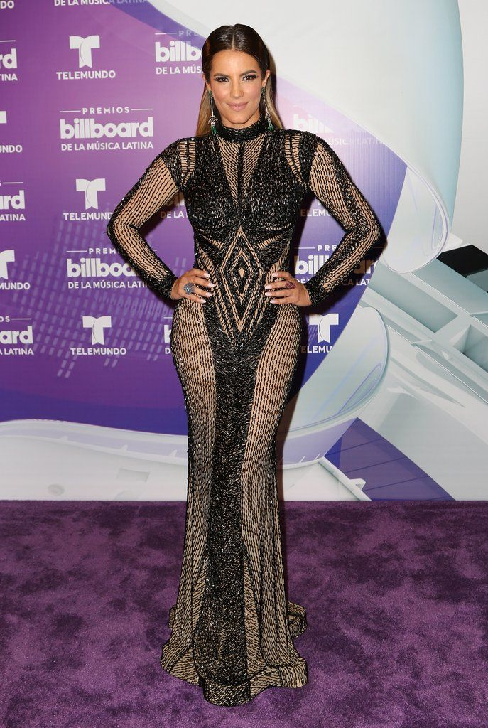See Every Single One of Gaby Espino\'s Gowns at the Latin Billboards