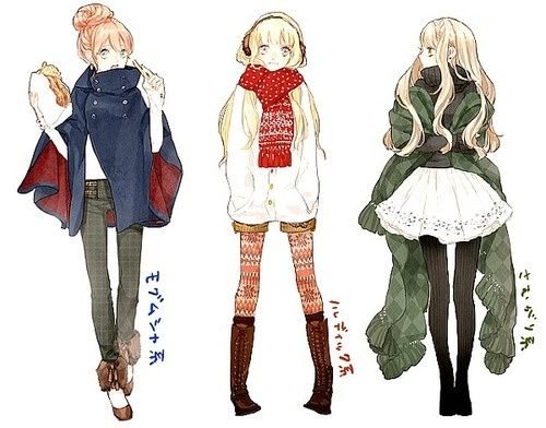 Photo of anime style fashion