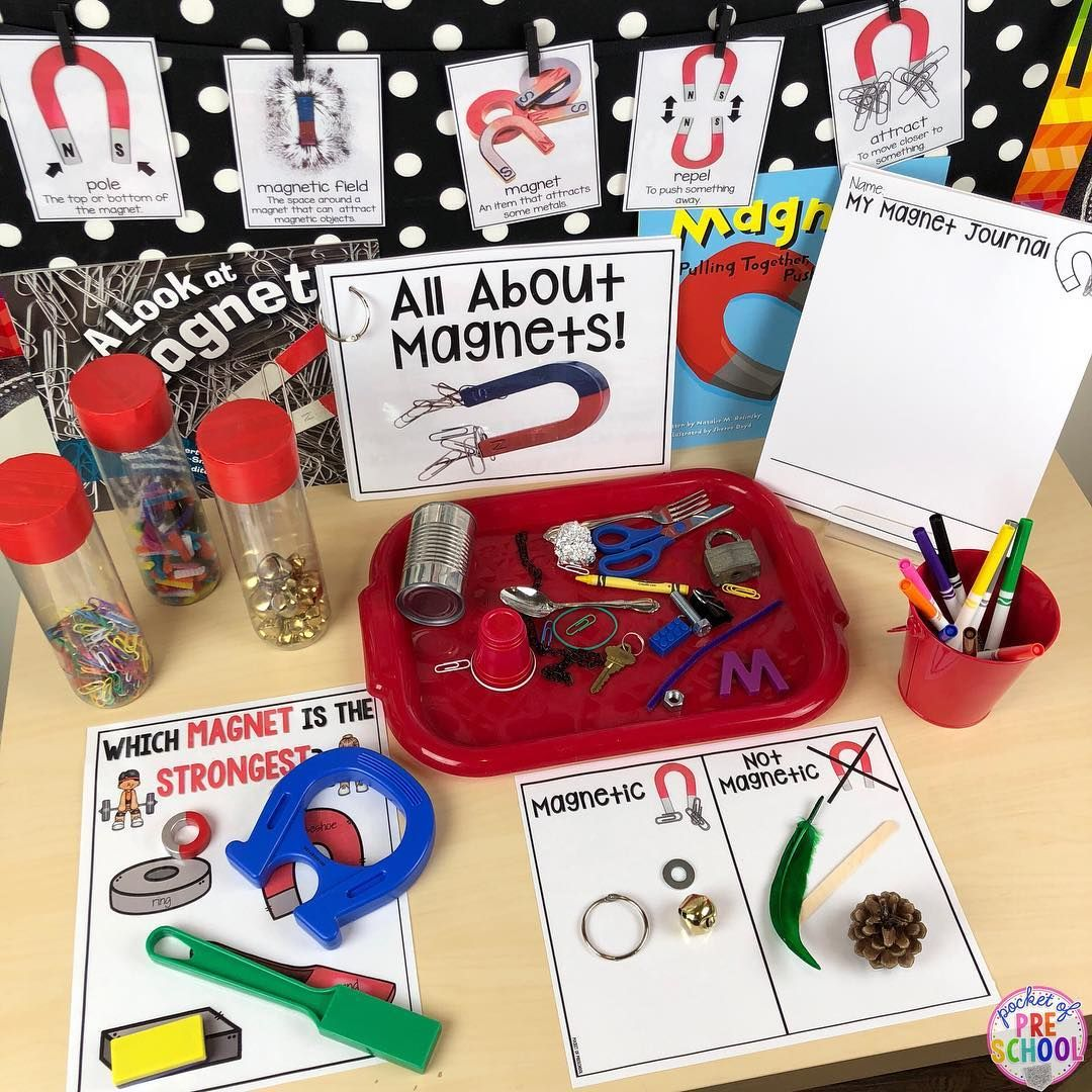 At The Science Table Is The All About Magnets Science Unit