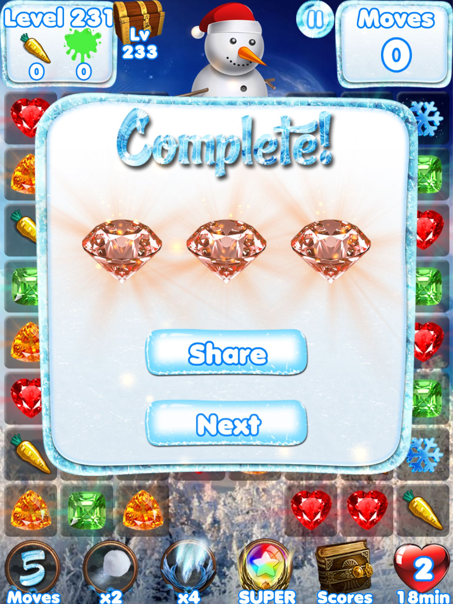 I Just Completed Level 231 On Snowman Games S Itunes