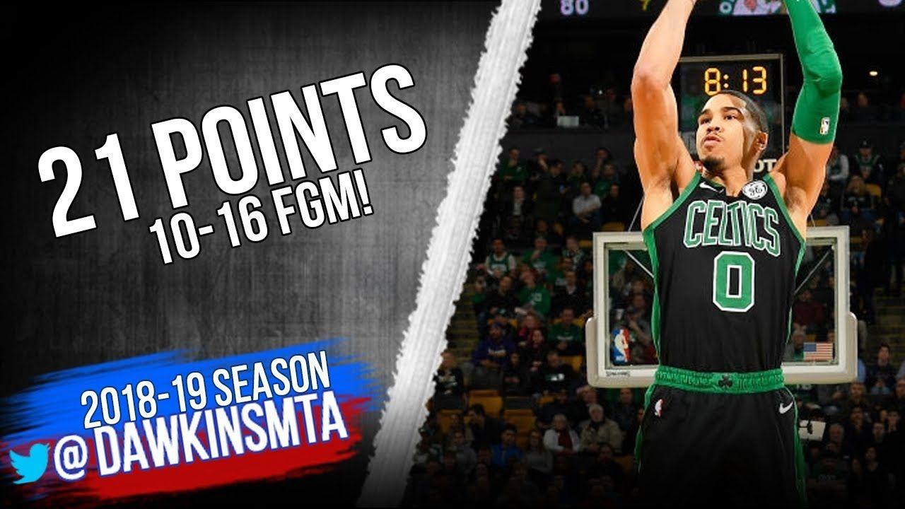 Jayson Tatum Full Highlights 2018.12.10 Celtics vs Pelicans - 21 Pts 10-16  FGM!   FreeDawkins   Jayson tatum, Tatum, Celebrity news