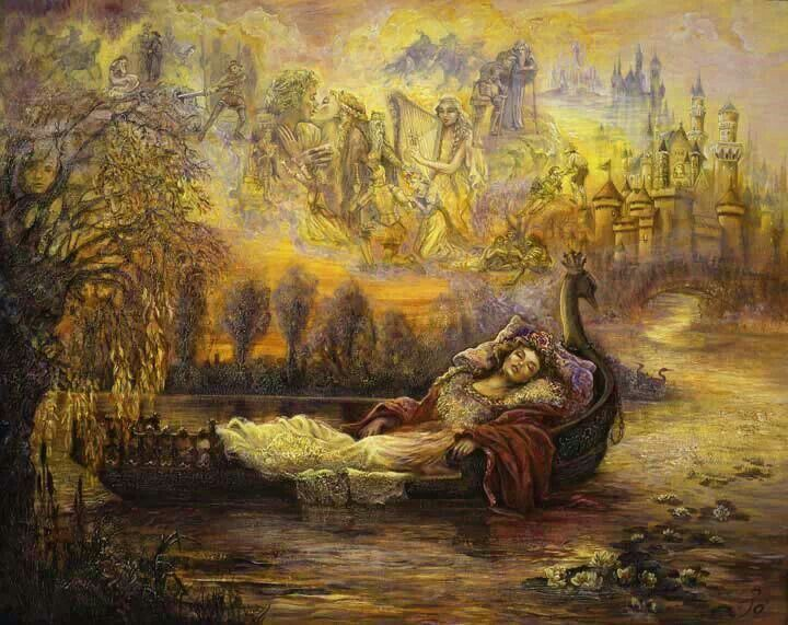 Dreams of Camelot by Josephine Wall   Josephine wall ...