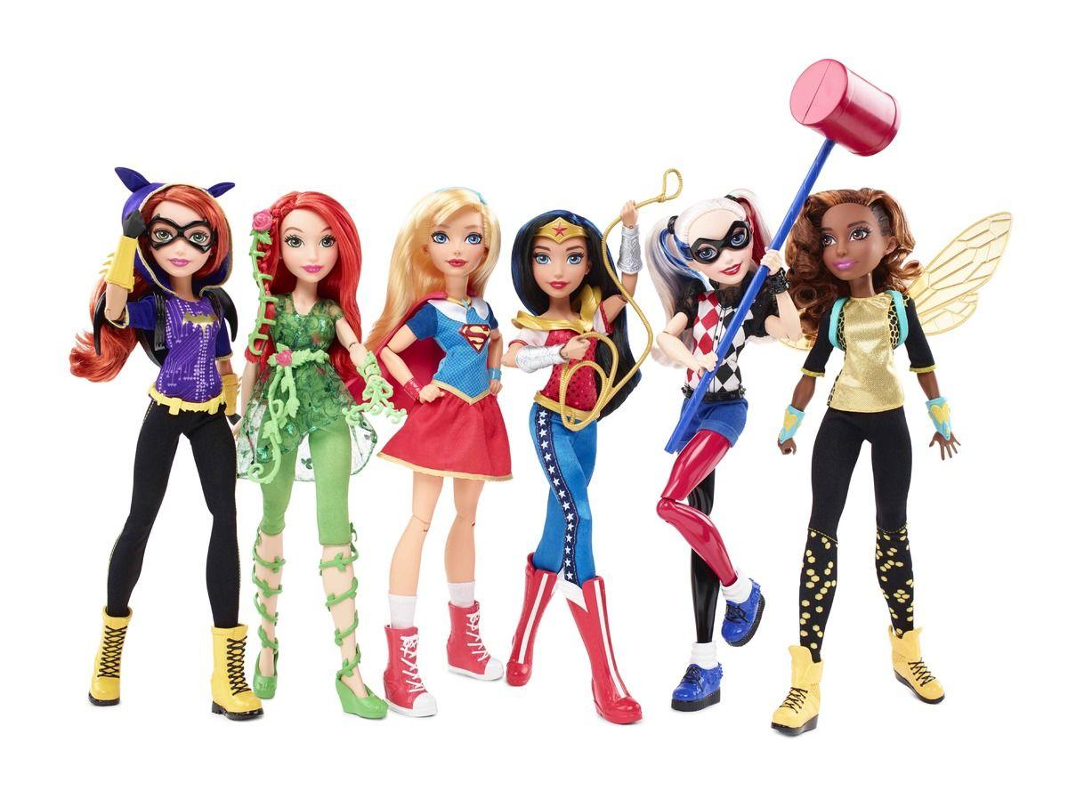 ToyzMag » DC Super Hero Girls, première image des poupées Mattel