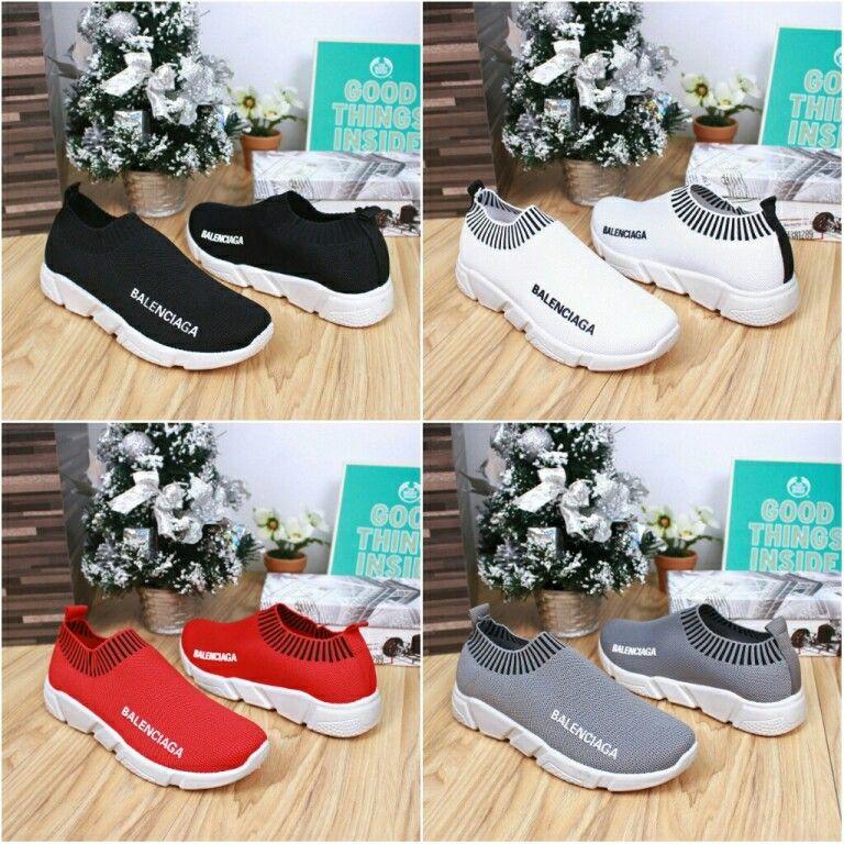 Sepatu Balenciaga Knit Sneakers Concept M423 50247 Quality