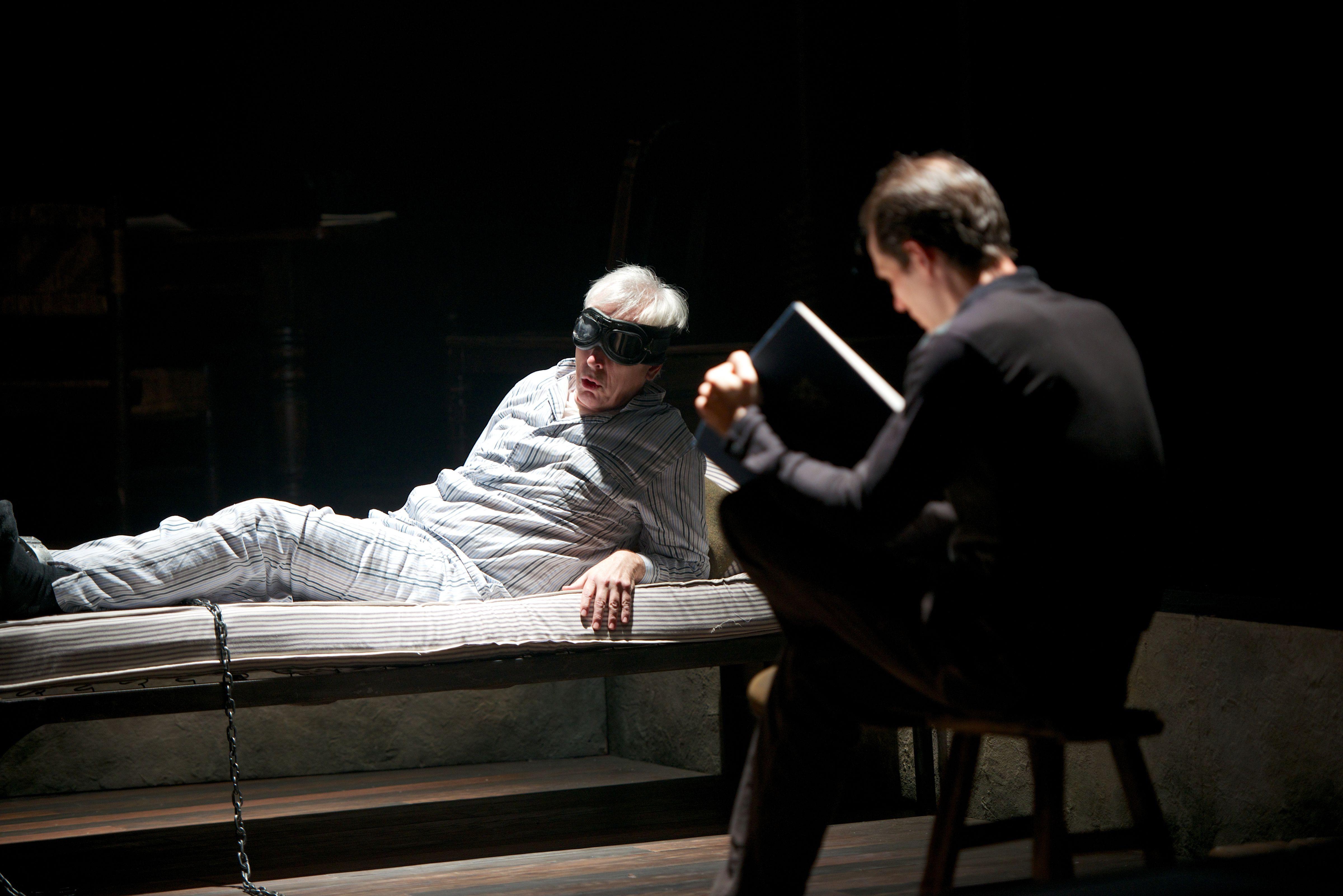 """Captors,"" based on ""Eichmann in My Hands,"" by Peter Malkin, Contemporary American Theater Festival, Shepherdstown, W.Va., July 8, 2012"