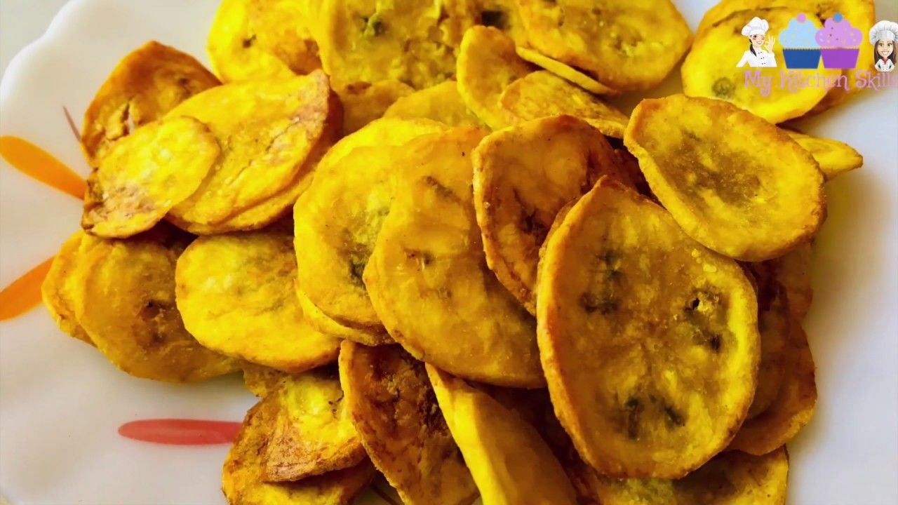 Healthy Banana Chips made with Air fryer YouTube in 2020