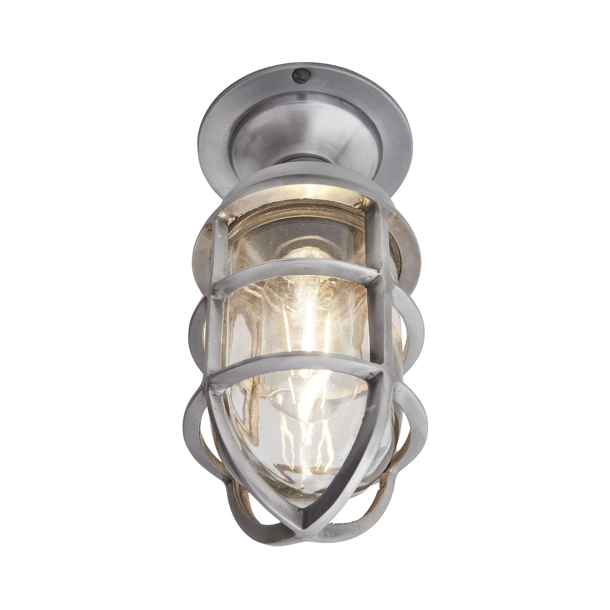 mount shade lamps pixball com drum semi cage flush l light