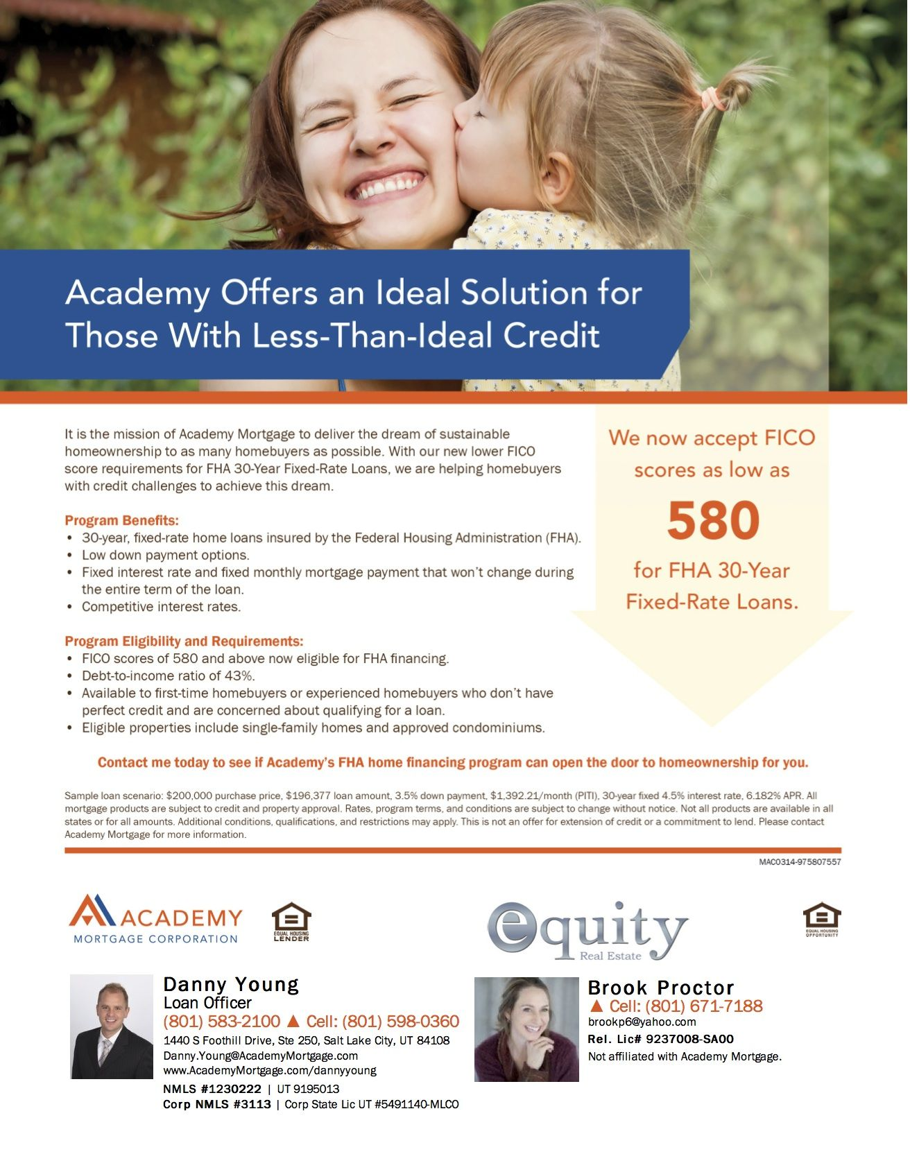 Academy Has A New Lower Fico Score Requirements For Fha 30 Year Fixed Rate Loans Loan Fha Loans Loan Company