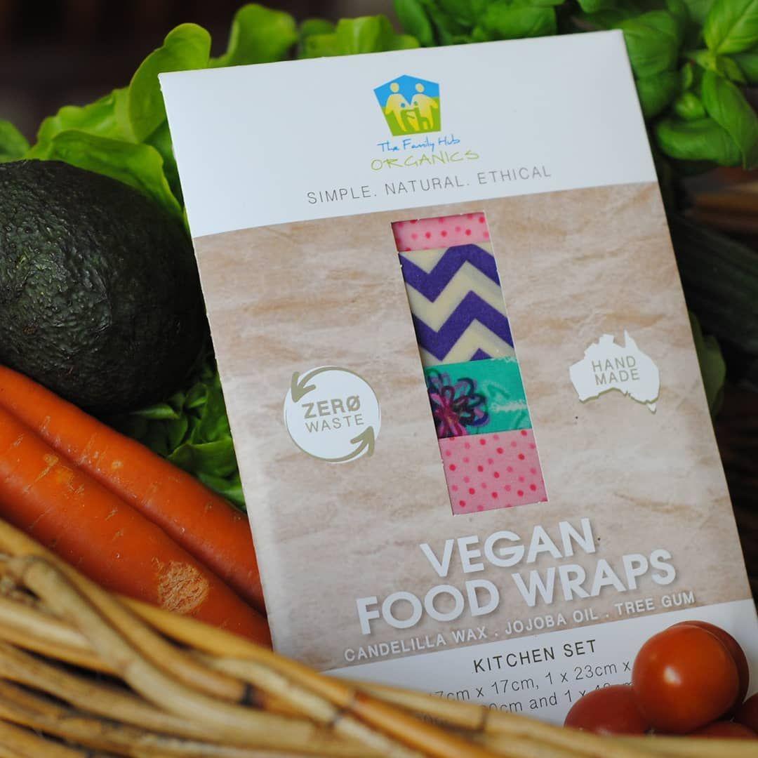 Family Hub Organics Vegan Food Wraps Kitchen Set