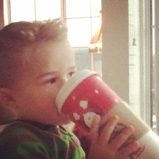 Starting young- Starbucks