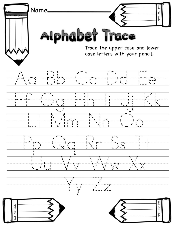 Pin By Georgia Hinton On Home Schooling Abc Tracing Kindergarten Abc Worksheets Kindergarten Worksheets Lowercase abc tracing worksheets pdf
