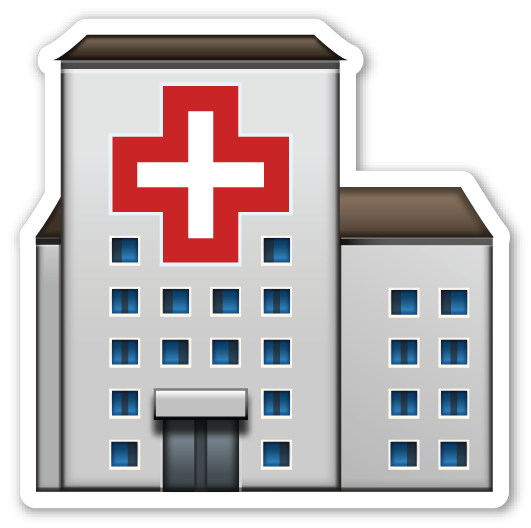 Hospital Emoji Hospital Emoji Stickers