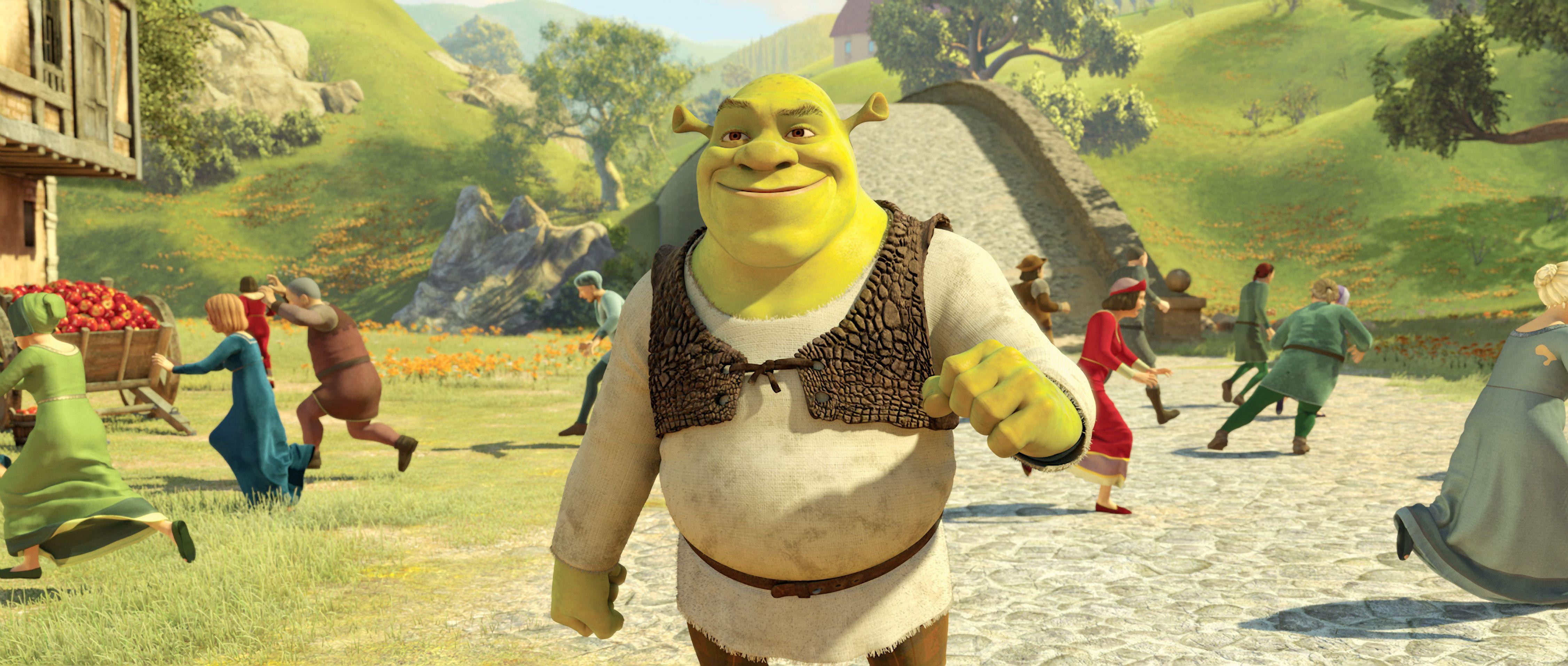 Donkey Shrek The Final Chapter HD Desktop Wallpaper Widescreen