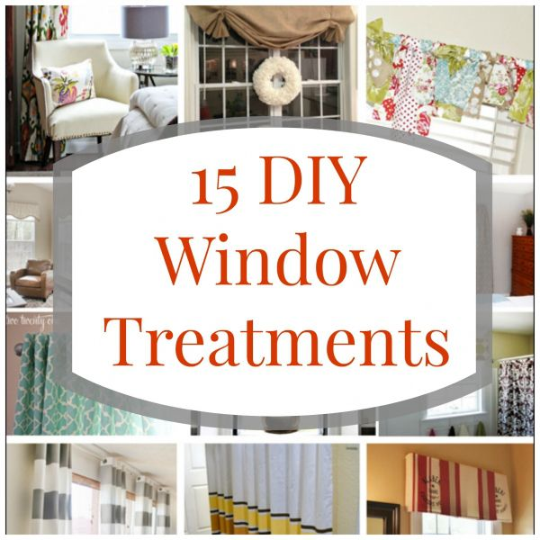 15 Window Treatments To Make On Your Own
