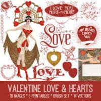 Vintage Christmas Scraps Kit! Graphics Fairy Premium Membership Site - The Graphics Fairy