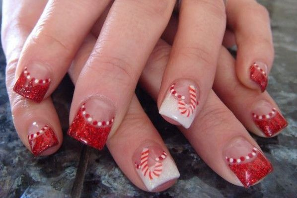 Cute Simple Nail Designs Christmas Nail Designs Tumblr Christmas