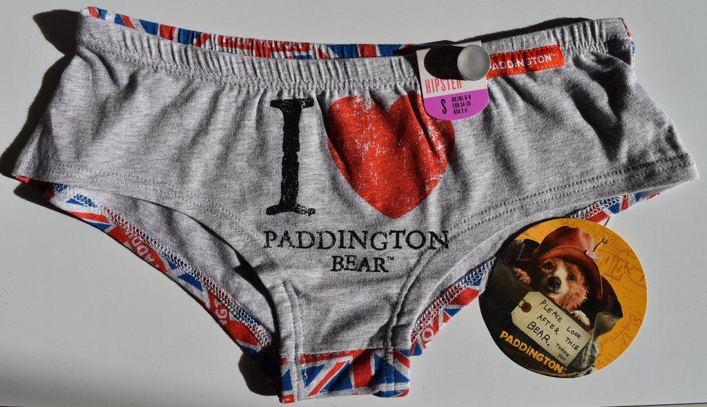 Primark Paddington Bear Knickers /'I Love/' Hipster Briefs Underwear UK 6-20 NEW