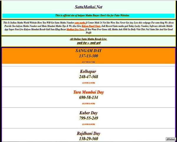 Pin by Satta Matka on Indian | Main mumbai, Indian, Numbers