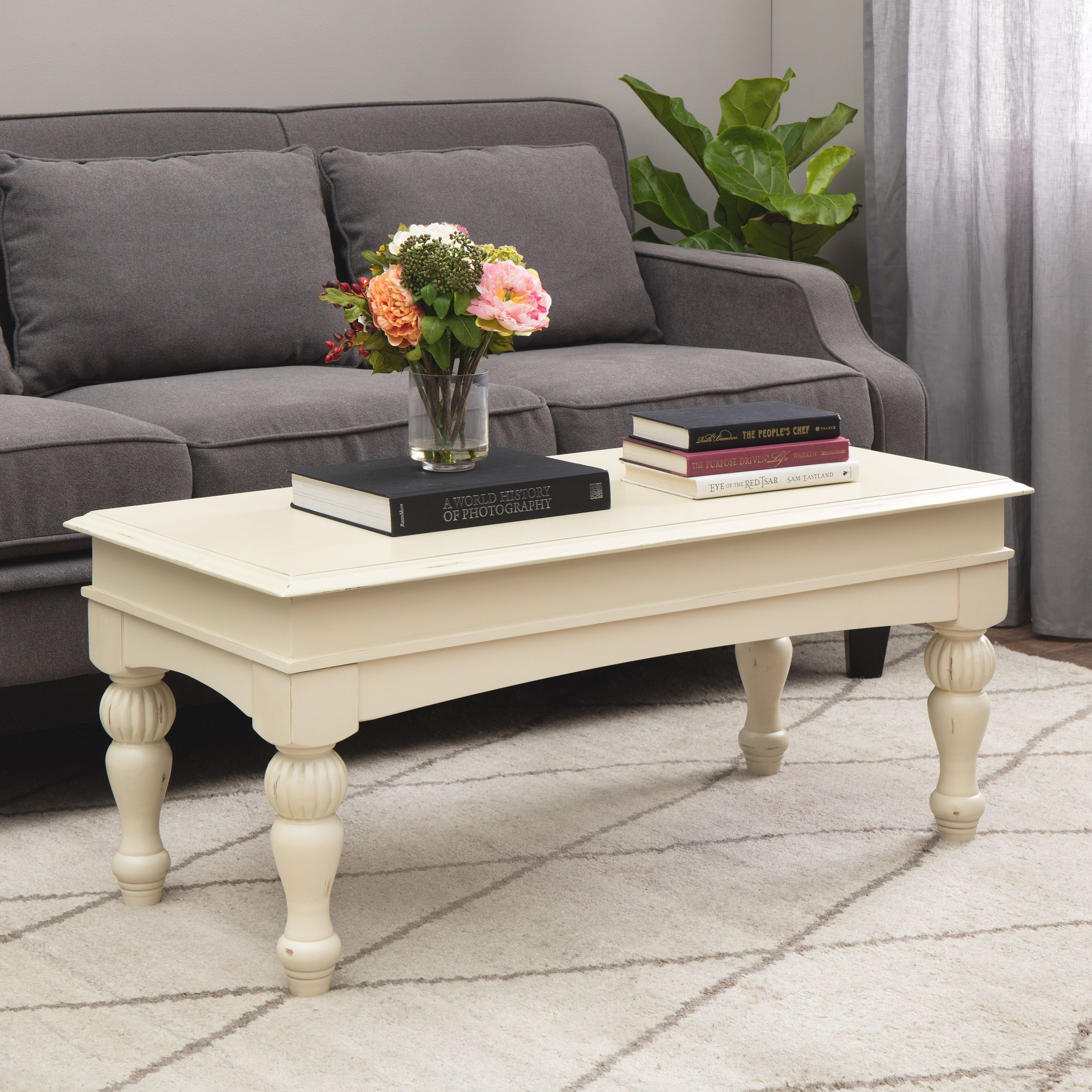 Outstanding The Gray Barn Vanilla Wasatch Coffee Table For The Home Evergreenethics Interior Chair Design Evergreenethicsorg
