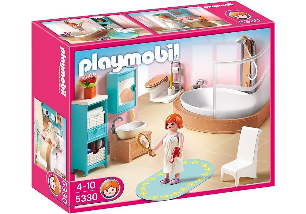 Amazon Com Playmobil Grand Bathroom Toys Games Playmobil Diy Bathroom Decor Barbie Kitchen