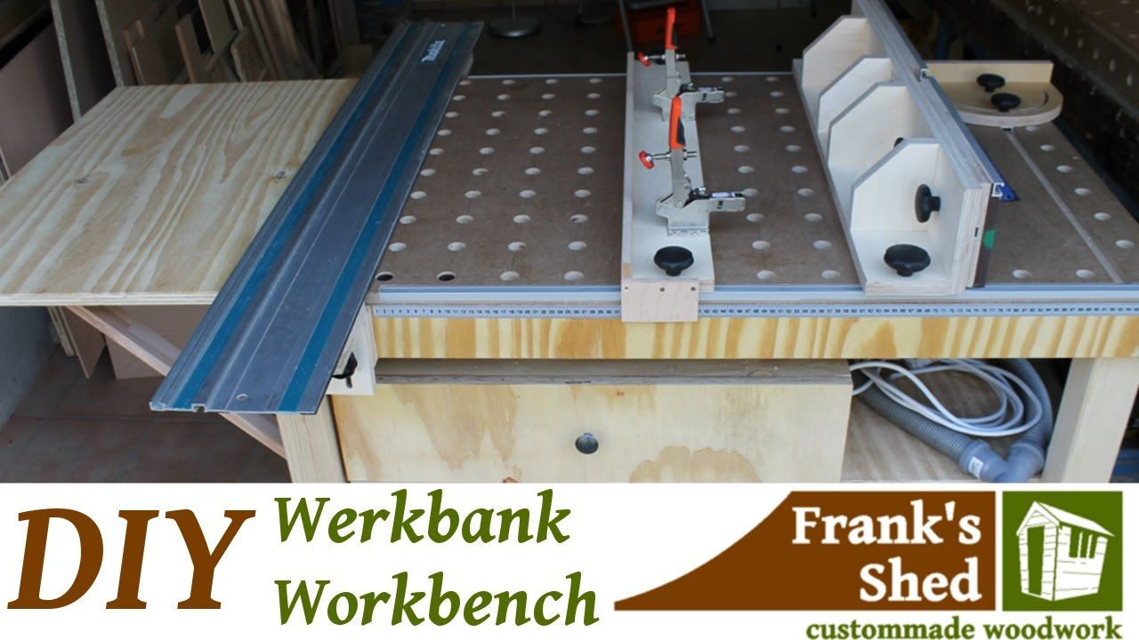 diy mobile werkbank selber bauen mobile workbench youtube werkstatt pinterest werkbank. Black Bedroom Furniture Sets. Home Design Ideas