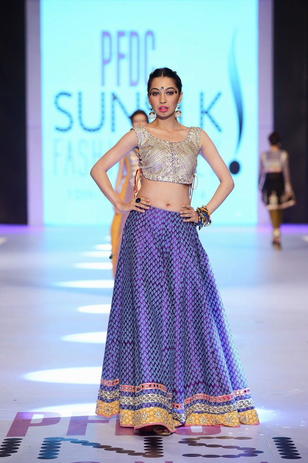 Karma Pink - PFDC Sunsilk Fashion Week 2014 | Pakistani Fashion ...