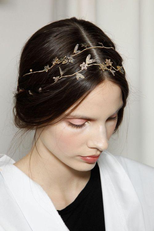 gold vine headpiece
