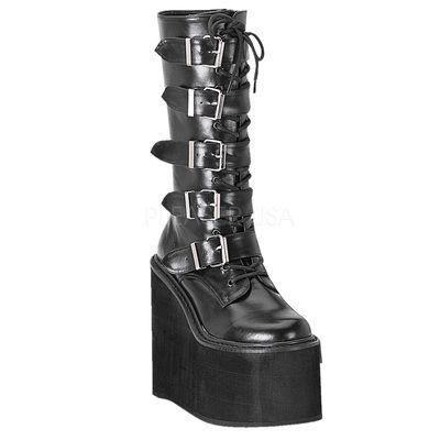 Demonia SWING 220 Blk Vegan Leather. www.Stripper-Shoes.com > Demonia