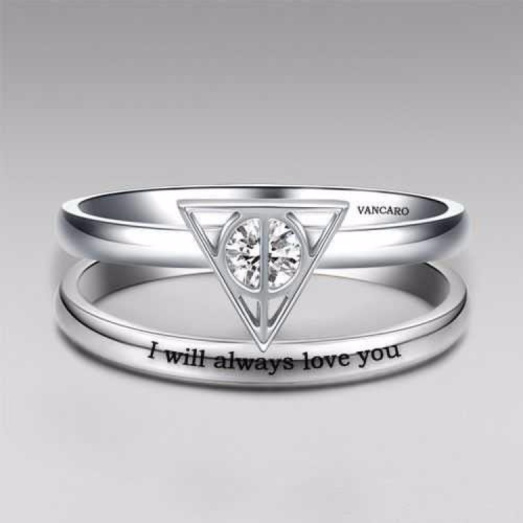 25 Harry Potter Themed Engagement Ring Ideas For Every Fan Harry Potter Ring Harry Potter Wedding Harry Potter Wedding Rings