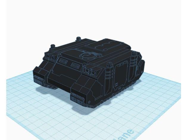 Hunchback, Warhammer 40K Cargo Transport by Hedron_Manufacturing_Inc