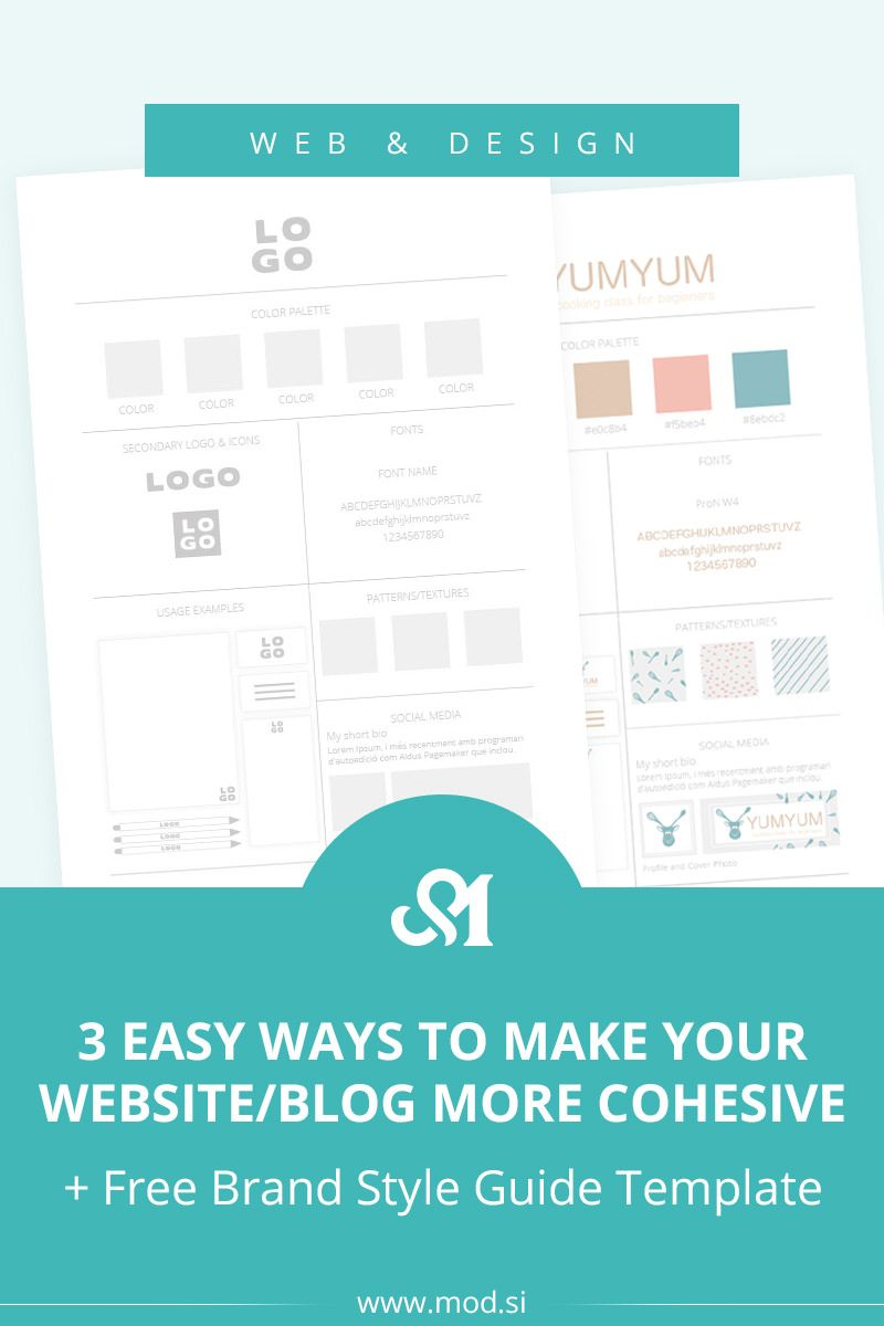 3 Easy Ways to Make Your Website/Blog More Cohesive + Free ...