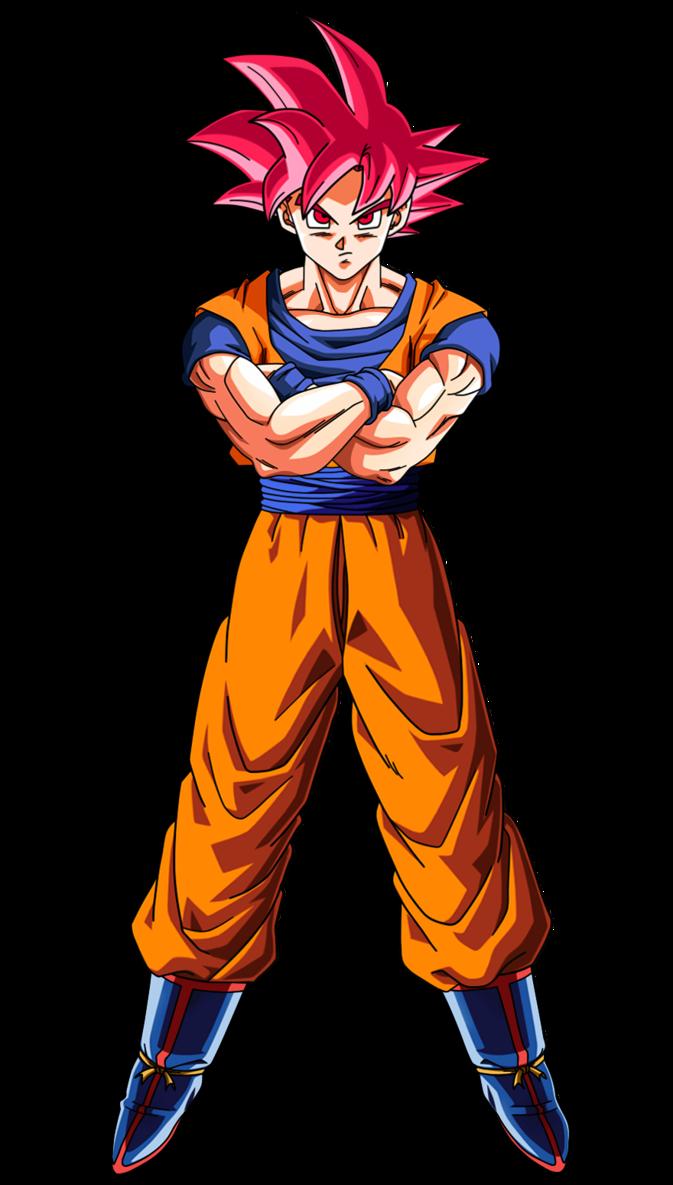 Goku super saiyan god by on - Foto goku super saiyan god ...