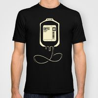 T-shirt featuring Coffee Transfusion by Tobe Fonseca