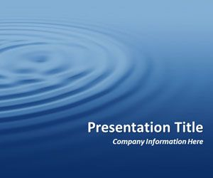 Ripples blue powerpoint template free professional powerpoint ripples blue powerpoint template free professional powerpoint background with water waves effect in the master toneelgroepblik Images