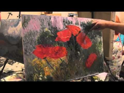 Рисуем цветы с игорем сахаровым