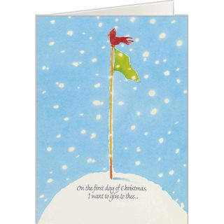 Golf Holiday Greeting Card from OnTheBallPromotions.com, Golf ...
