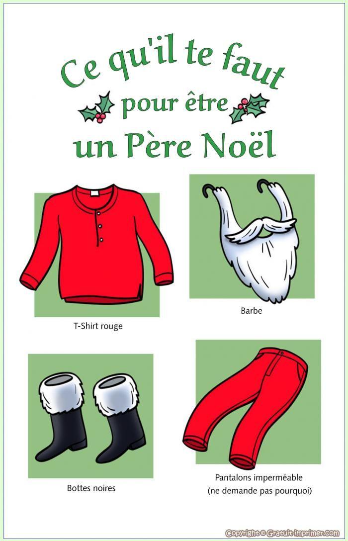 Carte joyeux noel humoristique gratuite a imprimer pere - Image pere noel a imprimer ...