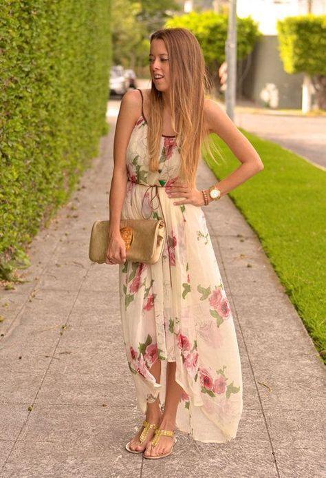 langes-sommerkleid-5-besten2 | mode | Pinterest | Sommer kleider ...