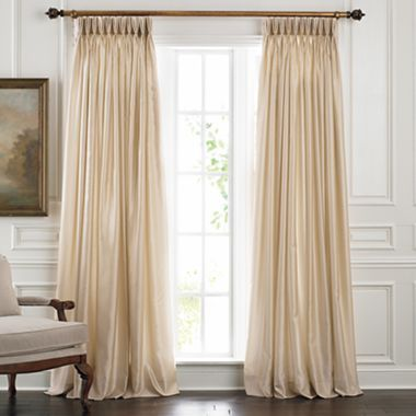 Chris Madden Mystique Pinch Pleat Drapery Panel Pair Jcpenney
