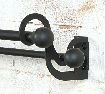 curtain rods double curtain rod brackets